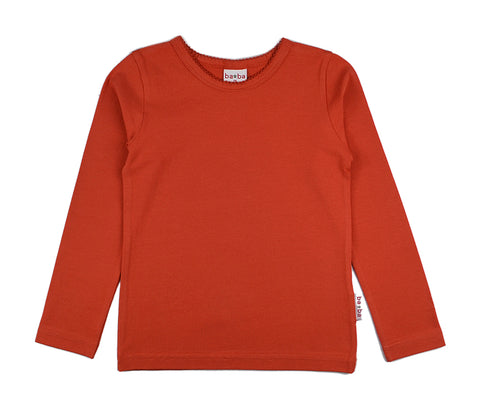 Baba Babywear - Longsleeve Girls Red