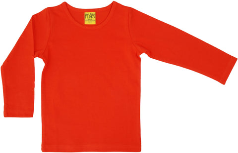 More Than A Fling Longsleeve Mandarin Red/Orange - Lange Mouw Mandarijn Oranje Rood