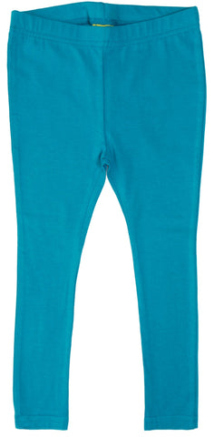 More Than A Fling Leggings Bright Teal - Helder Teal