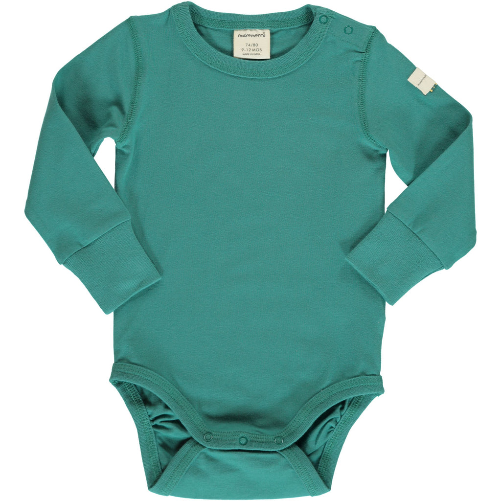 Maxomorra - Body LS Solid Teal