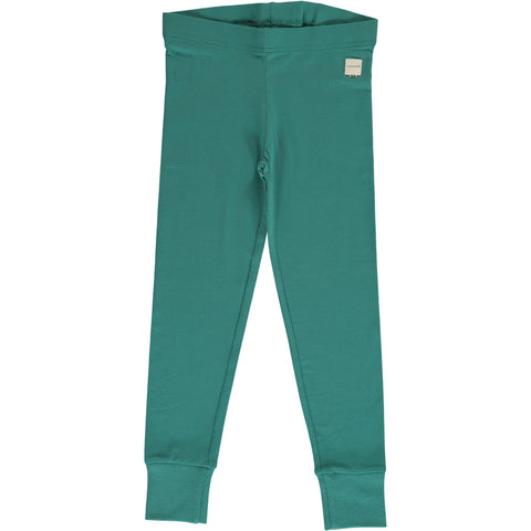 Maxomorra - Leggings Cuff Solid Teal