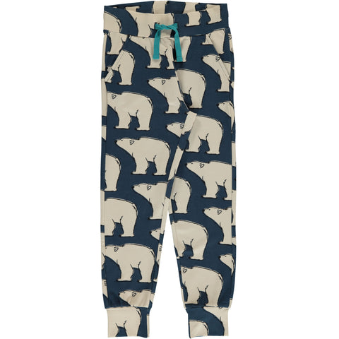 Maxomorra - Sweat Pants Polar Bear - Jogging broek IJsbeer