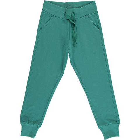 Maxomorra - Sweat Pants Teal - Jogging broek Teal Groen