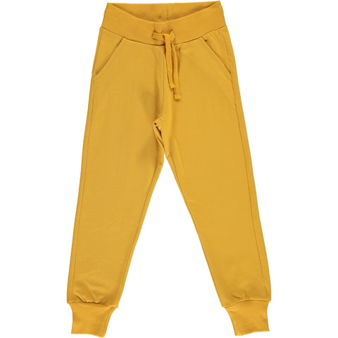 Maxomorra - Sweat Pants Ochre - Jogging broek Oker Geel