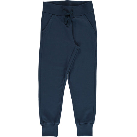 Maxomorra - Sweat Pants Midnight Blue - Jogging broek Donker Blauw