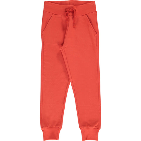 Maxomorra - Sweat Pants Rowan - Jogging broek Oranje Rood