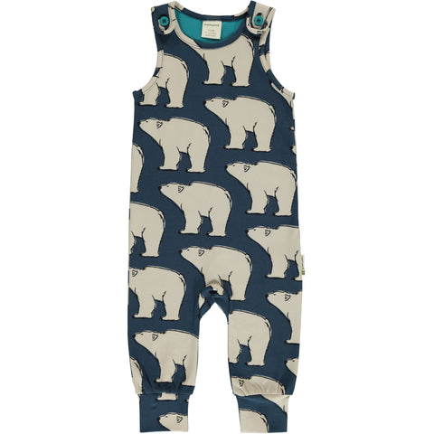 Maxomorra - Playsuit Polar Bear - Dungarees IJsbeer
