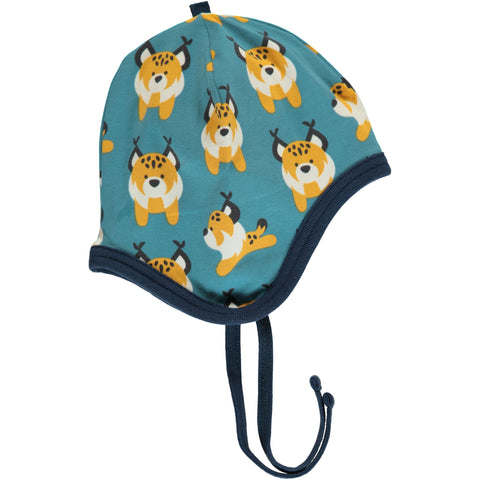 Maxomorra - Hat Helmet Velours Lively Lynx