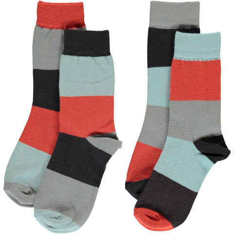 Maxomorra - Socks 2-pack Multi Fun
