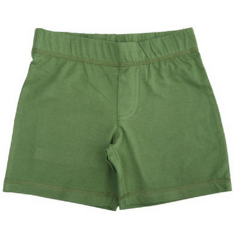 More Than A Fling Shorts Swamp Green - Korte Broek Moeras Groen
