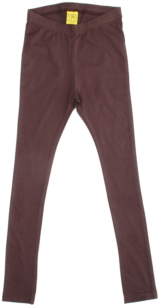 More Than A Fling Leggings Autumn Brown - Herfst Bruine Leggings