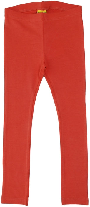 More Than A Fling Leggings Rust Roest Oranje