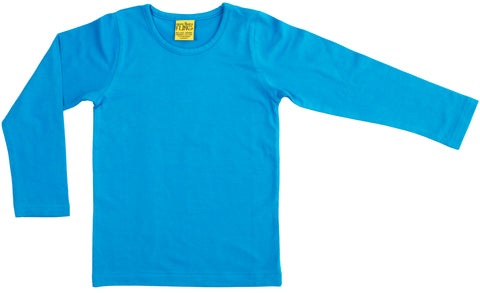 More Than A Fling Longsleeve Carribean Blue Longsleeve Turquoise Carribean