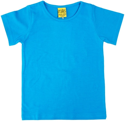 More Than A Fling T Shirt Carribean - Carribean Blauw Shirt