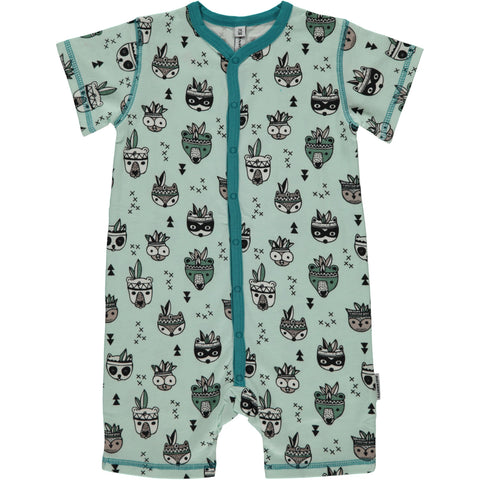 Maxomorra Summersuit Animal Mix