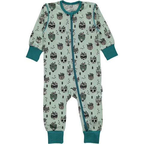 Maxomorra Zipsuit Animal Mix - Jumpsuit Dieren