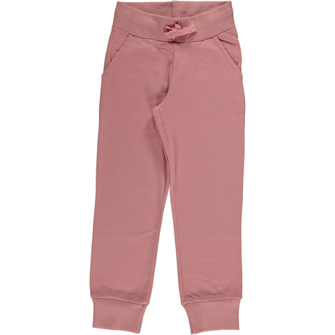 Maxomorra Sweat Pants Dusty Pink - Jogging Broekje Roze