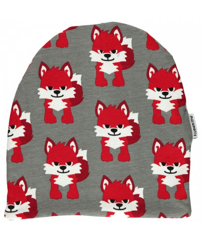 Maxomorra Beanie Hat Velours Fox