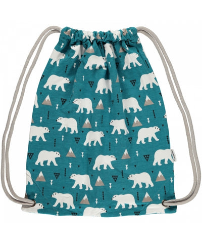 Maxomorra Gym Bag Polar Bear Gymtas IJsbeer