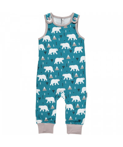 Maxomorra Plus Playsuit Polar Bear IJsbeer
