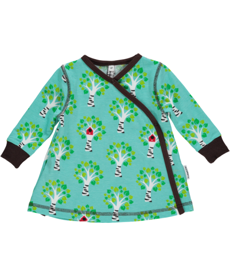 Maxomorra Wrap Dress Treehouse Wikkeljurkje Boomhut