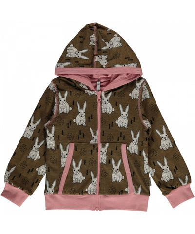 Maxomorra Plus Cardigan Rabbit