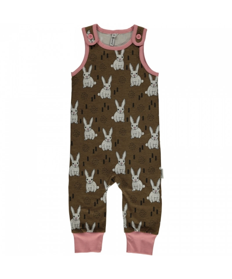 Maxomorra Plus Playsuit Rabbit