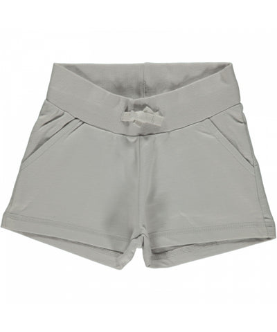Maxomorra Shorts Light Grey - Korte Broek Grijs