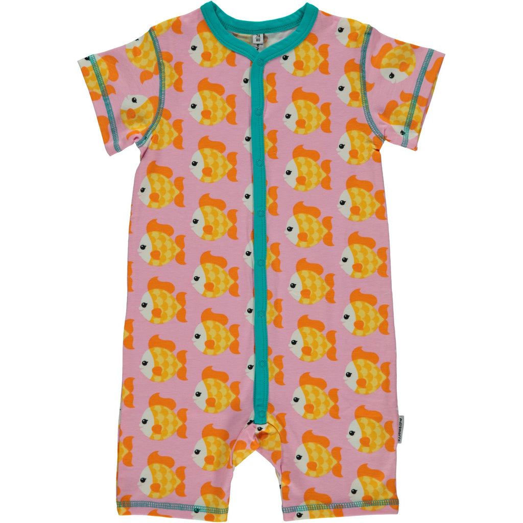 Maxomorra Summersuit Goldfish - Goudvissen