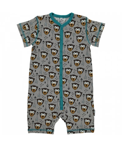 Maxomorra Summersuit Little Arrow Monkey