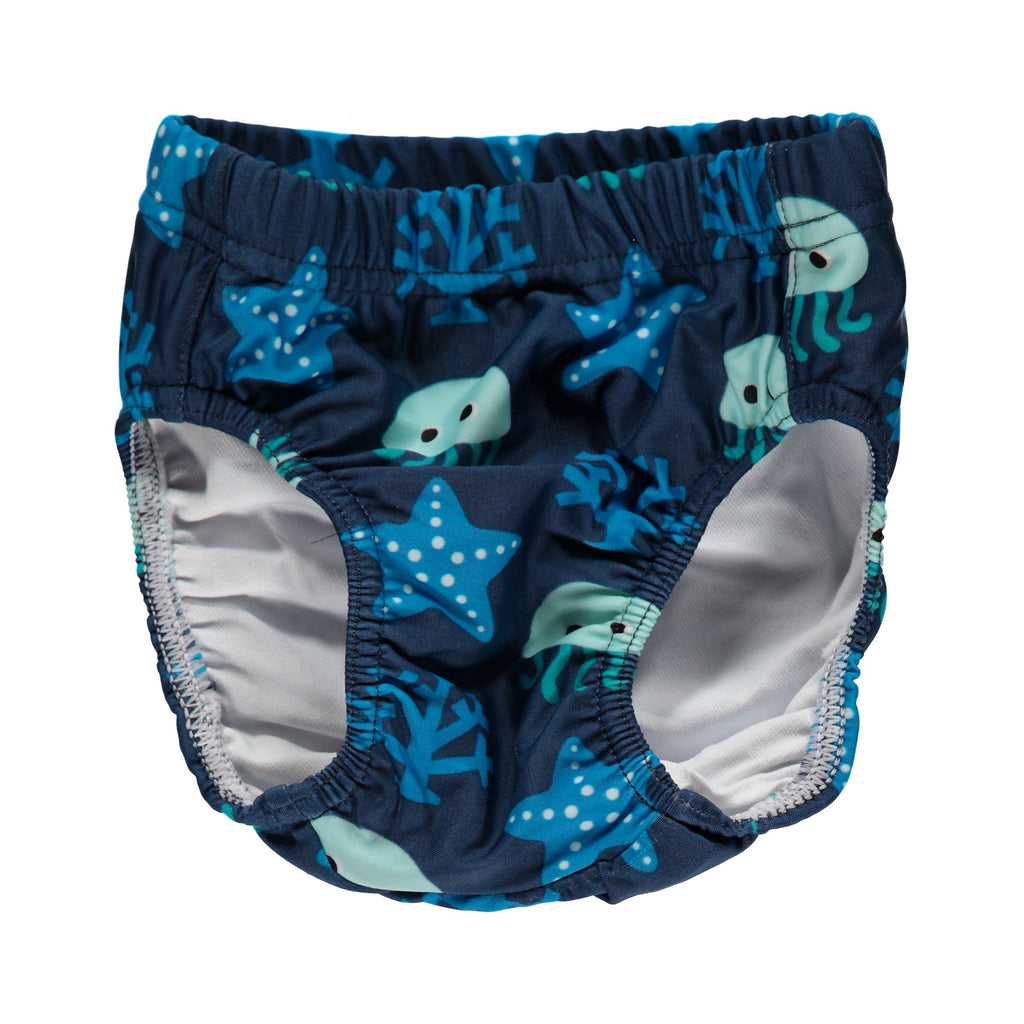 Maxomorra Baby Swimdiapers - Swim Trunk Deep Sea
