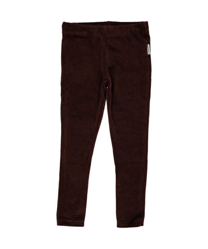 Maxomorra Leggings Sweat Dark Brown