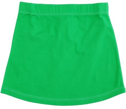 More Than A Fling kirt Basic Green - Rokje Groen