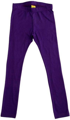 More Than A Fling Leggings Dark Purple Donker Paarse Legging