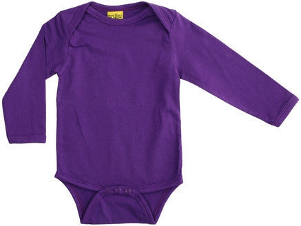 More Than A Fling Body Purple - Paarse Romper Lange Mouw