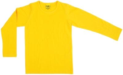 More Than A Fling Longsleeve Yellow - Geel Shirt Lange Mouw