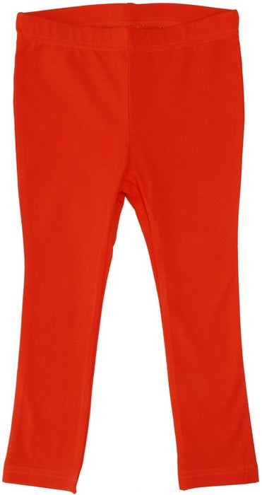 More Than A Fling Leggings Mandarin Red-Orange