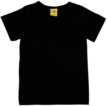 More Than A Fling T Shirt Black - Zwart Shirt