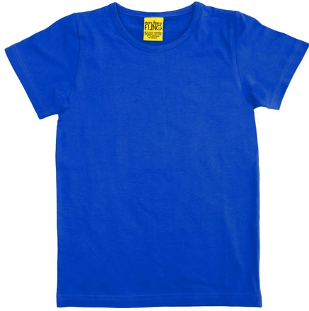 More Than A Fling T Shirt Blue - Blauw Shirt