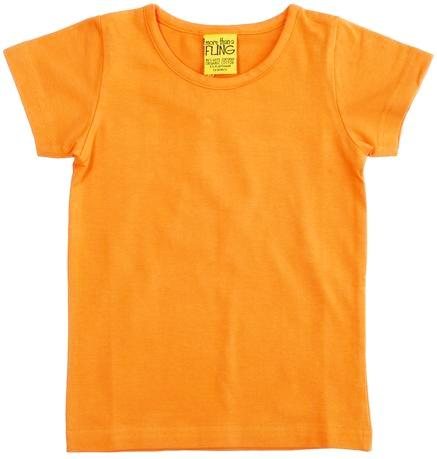 More Than A Fling T Shirt - Saffran Yellow Oranje