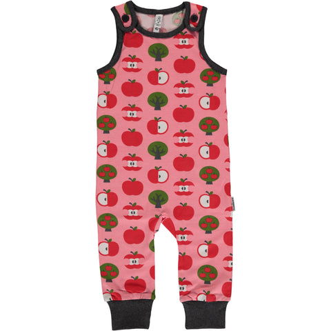 Maxomorra Playsuit Apples - Playsuit Appels