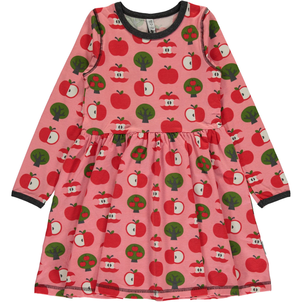 Maxomorra Dress Spin Apples - Zwierjurk Appels