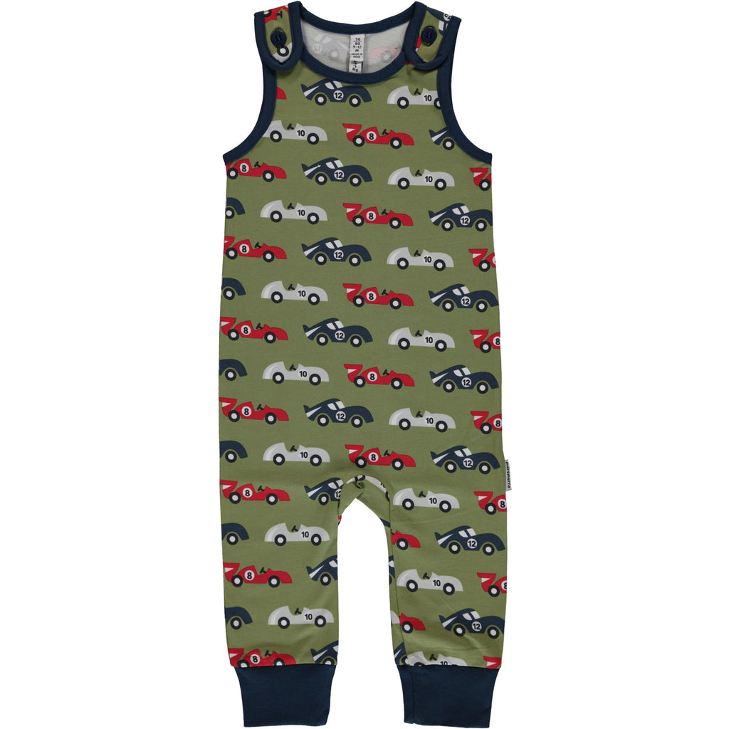 Maxomorra Playsuit Race Car - Playsuit Race Auto's