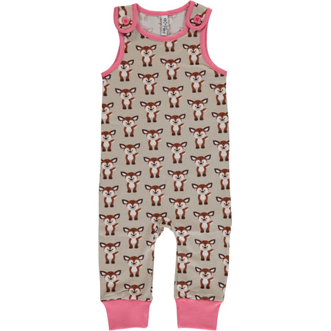 Maxomorra Playsuit Fawn - Playsuit Hertjes