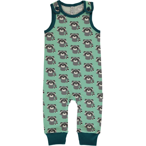 Maxomorra Playsuit Raccoon - Playsuit Wasberen