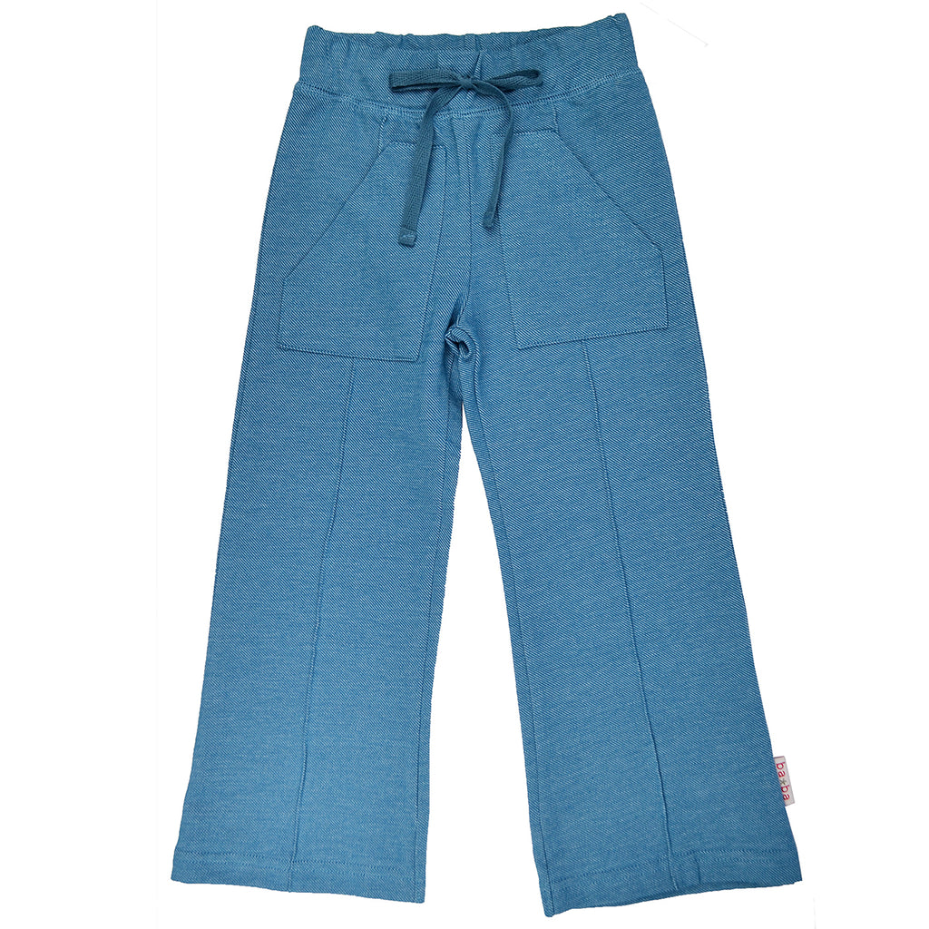 Baba Babywear - Pocket Pants Tapestry - Groenblauw