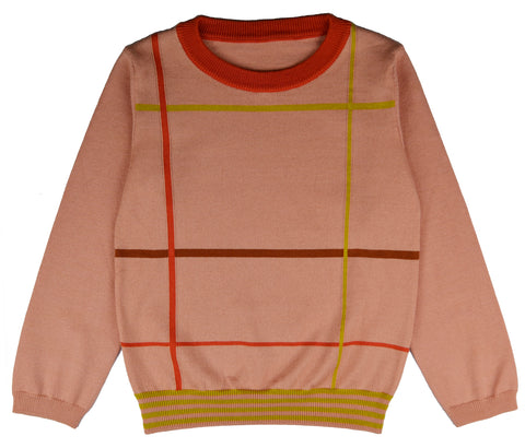 Baba Babywear - Pullover Girls Checked