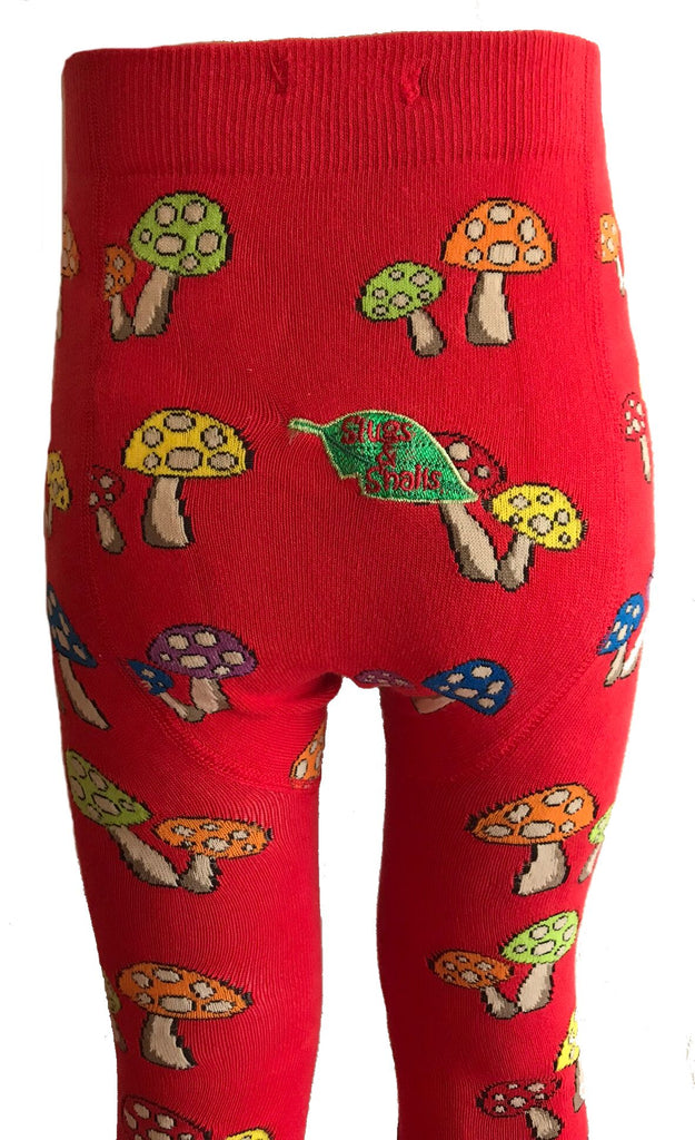 Slugs and Snails - Tights Mushroom Mix-Up - Maillot paddenstoelen Mix