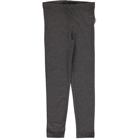 Maxomorra Leggings Dark Grey Melange - Licht Grijze Legging