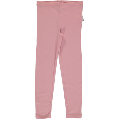 Maxomorra Leggings Dusty Pink - Poeder Roze Legging